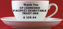 Thank you CP (Concord Pacific) Charitable Trust One...
