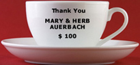 Thank you Mary and Herb Auerbach...